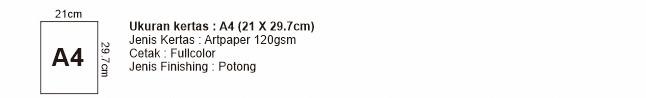 Flyer A4 21x29,7 cm