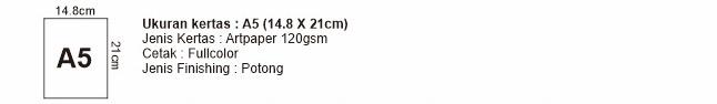 Flyer A5 14,8x21 cm